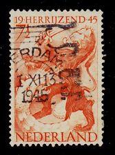 NETHERLANDS    SCOTT# 277  USED  LIBERATION