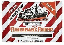 Fisherman's Friend Lozenges Cherry Menthol 25g