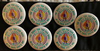 (7) Vintage Wildhorse Saloon Country Dance Bar Club Nashville Pin Pinback Button