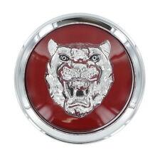 Jaguar Wheel Center Cap Ruby Red Badge Growler MNA6249EA OEM