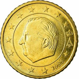 [#723780] Belgique, 50 Euro Cent, 1999, SUP, Laiton, KM:229