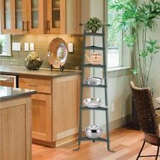 Corner Cookware Stand Cast Iron Pot Pan Holder Heavy Duty Kitchen Storage Shelf