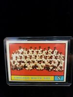 Chicago White Sox 1960 Team Card #7 Sharp Corners, Centered, Crease Free 1961 To