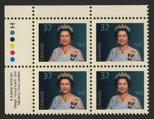 Canada 1162 TL Plate Block MNH Queen Elizabeth