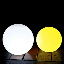Outdoor Solar LED Color-Changing Floating Ball Night Light Landscape Yard Lamp F