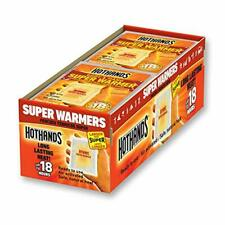 HotHands Body & Hand Super Warmer Lasting Air Activated Warmers 40 count Long