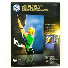 "HP 60 Sheet Advanced Photo Paper Glossy 5"" x 7"" Q8690A Free Shipping Sealed New"