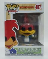 Funko Pop! Woody Woodpecker #487 Animation + Pop Protector New Free Shipping