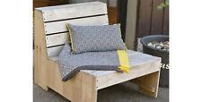 léger coton COUVERTURE 140x200 Riva petits motifs gris jaune Fussenegger 2718/90