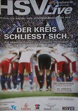 Programm 2010/11 HSV Hamburger SV - Borussia Dortmund / Hanover 96