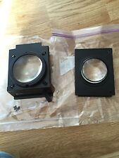 Vivitar Vi Adjustable Dual Lens Carrier Mechansim & 2 X Lens Plus Tray Lens
