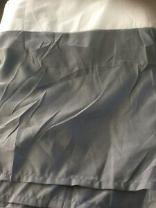 Grey Bed Skirt King Size Gray