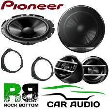Pioneer Vauxhall Corsa C/D 2006 Onwards 600W Component Front Door Car Speakers