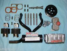 FIAT 500 F/L/R 126 KIT ELABORAZIONE COMPLETO ABARTH MOTORE 700 PISTONI CAMMA ECC