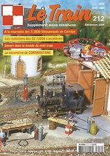LE TRAIN N° 212 X 2800 LIMOUGEAUDS EN CORREZE / CC 72000 / GAZOMETRE CORNERSTONE