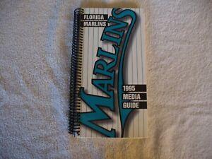 MLB - Florida Marlins 1995 Media Guide - VINTAGE - NICE