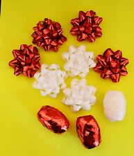 Bows & Ribbons Christmas Birthday Gift Metallic Wrapping Present Decoration