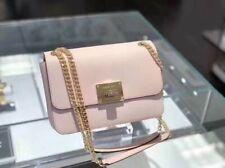 NWT Michael Kors Tina Medium Shoulder Flap Crossbody Handbag Ballet