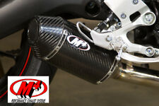 M4 Standard Mount Slip-On Exhaust For Yamaha FZ09 2014-2017 Carbon Fiber