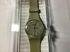 Swatch GT702 1983 Retro Tan Watch