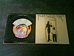 Lot Of 4 Nice Fleetwood Mac Albums With Lightly Worn Covers