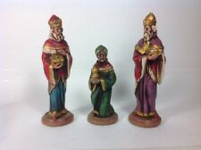 RB JAPAN Vintage Three Wise Men Figures Statues Christmas Nativity Figurines