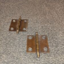 """18 Pair of Amerock Antique English Brass 1 1/2"""" Full Inset Butt Hinges BP2335-AE"""