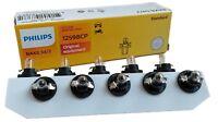BAX BX8.5/2 black PHILIPS 1.2W 12V 10 Stück Instrumentenbeleuchtung 12598CP