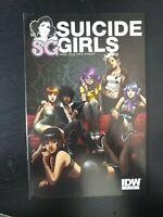 SUICIDE GIRLS #1, NM, Steve Niles, IDW, 2011 Brea Grant Missy Suicide