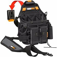 TOUGHBUILT Journeyman Electrician Pouch Shoulder Strap Black Bag Electrician New