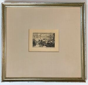 Walter C. yeomans  1882-1972 original etching