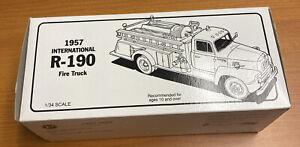 First Gear 1957 International R-190 Fire Truck: ENGINE COMPANY No.1 Diecast NIB