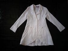 veste longue blanche - 10 ans - OOXOO - NEUVE jamais portée juste lavée