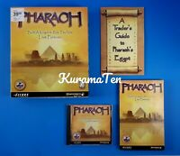 Pharaoh PC Video Game 1999 Complete Rated E Sierra Studio Impressions Game