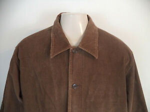 Men's Brown Paradox Corduroy Jacket. XL. Shell And Linine - 100% Cotton.