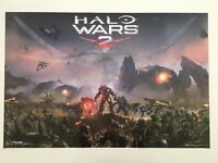 HALO WARS 2, AUTHENTIC LICENSED 2017 MICROSOFT   POSTER