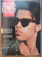 MUSIKEXPRESS 9 - 1986 Prince David Lee Roth Rio Reiser Jackson Brown Level 42