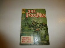 The Frogmen #6 Dell Comics 1963 Silver Age War Painted Cover Submarine 94