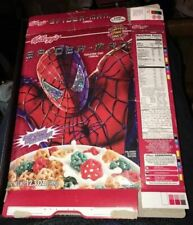 Kellogg's Spider-man Limited Edition Cereal 2002