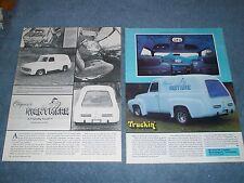 "1953 Ford F-100 Custom Panel Truck Vintage Article ""Casper's Nightmare"""