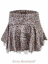 Casual Floral Tiered Skirts for Women
