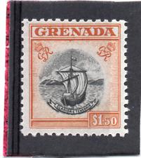 Grenada GV1 1951 $1.50 sg 183 NHM