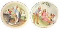 2 Csatari Grandparent Plate Series Edwin Knowles Plates Cookie Tasting & Swinger