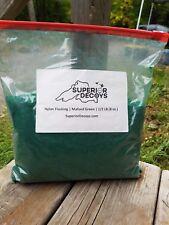 Mallard Green DonJer Nylon Flocking 1/2 Pound (8 Ounces) - Decoys - Goose, Duck