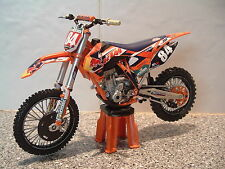 2014 TOY MOTOCROSS BIKE MODEL 1:12 JEFFREY HERLINGS RED BULL KTM #84 SXF 250