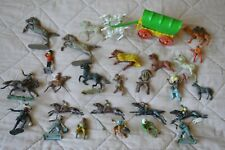 Vintage Cowboys and Indians Toy Figures