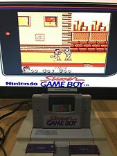 Super Game Boy Snes + Turok 2: Seeds of Evil - TESTED AND WORKS!