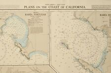 Admiralty Chart 2885, California