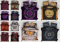 Handmade Quilt Cover Indian Pure Cotton Blanket Doona Duvet Cover Queen Bed Set