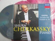 Shura Cherkassky Chopin Piano Concertos ERM 185-2 UK  Promo CD Album